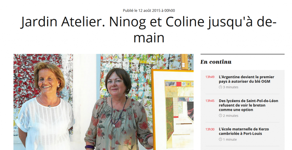 photo article Ninog Le Telegramme